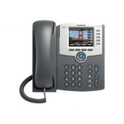 Cisco Small Business SPA 525G2 - Téléphone VoIP - IEEE 802.11g (Wi-Fi) - SIP, SIP v2, SPCP - multiligne - argenté(e), gris foncé