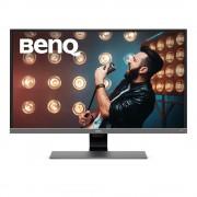 BenQ EW3270U Monitor Piatto per Pc 31,5'' 4K Ultra Hd Led Nero Grigio Metallico
