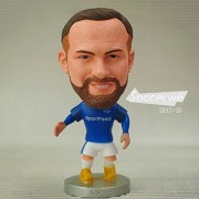 """Football star Soccer Player Star 10# ROONEY (EVE-2018) 2.5"""" Action Figure"""