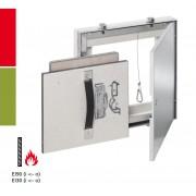 RUG Semin AluRapid® Safe EI/I30 / EI/I90 Revisionstür - F/EI/I30 - 600 x 1000 mm