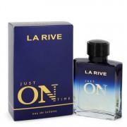 La Rive Just On Time Eau De Toilette Spray 3.3 oz / 97.59 mL Men's Fragrances 545070