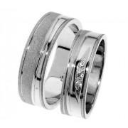 Zlatý snubní prsten Gems Line, 436-0311_0312