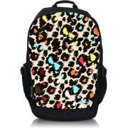 Laptop rugzak 15,6 gekleurde panterprint - Sleevy