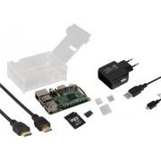 Raspberry Pi 3 model B Starter-Set 1 GB cu sistem de operare Linux, Noobs