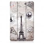 Shop4 - Huawei MediaPad M5 8.4 Hoes - Smart Book Case Eiffeltoren
