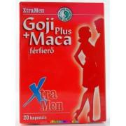 Goji Plus és Maca 20 db kapszula, prosztata egészségéért - XtraMen Dr. Chen