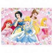 Puzzle 104 Princesas joyas - Clementoni