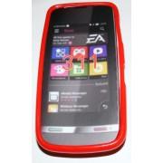 Силиконов гръб ТПУ за Nokia Asha 311 Червен