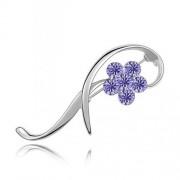 Brosa Elemente Swarovski Floare