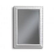 Art.651 Specchiera rettangolare bianca/oro