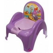 Olita mini toaleta muzicala Safari Jungle Mov copii bebelusi