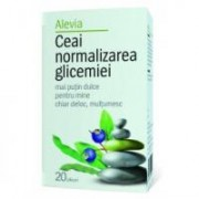 Ceai normalizarea glicemiei 20plicuri ALEVIA