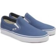 Vans CLASSIC SLIP-ON Loafers For Men(Blue)