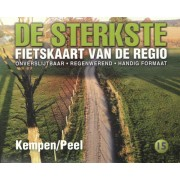 Fietskaart 15 De Sterkste van de Regio Kempen - Peel | Buijten & Schipperheijn