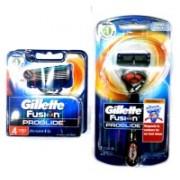 Gillette fusion proglide Travel Shaving Kit(Orange)