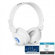 Căști Auna DBT - 1 Bluetooth baterie handsfree albe (HP-DBT1-WH)