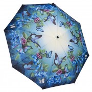 Blooming Brollies Doamnelor pliere complet auto umbrela matic Blue clopote GFFBB