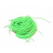SCOUBIDOU FRANCAIS Scoubidou Vert fluo - le brin de 150 cm