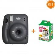 Kit Fujifilm Instax Mini 11 Gray + Set de 20 Hartii Foto