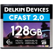 Delkin 128GB VPG-130 Cinema CFast 2.0 560MB/s