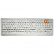 EW 104 teclas Punk ABS Tecla redonda Tapa de bricolaje para teclado mecánico