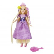 Papusa Disney - Rapunzel cu accesorii de par - HBC1748