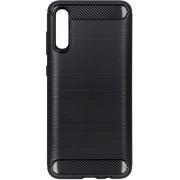 Brushed Backcover Samsung Galaxy A70 hoesje - Zwart
