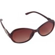 Aligatorr Cat-eye Sunglasses(Brown)