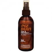 Piz Buin Spray de protecție ulei accelerarea procesului de bronzare Tan & Protect SPF 30 (Tan Accelerarea Spray de ulei) 150 ml