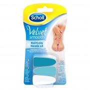Scholl Velvet Smooth - Nail Care Ricambi X 3