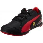 Puma Boy's Valorosso SF Jr Black-Rosso Corsa Boat Shoes - 11 kids UK/India (29 EU)