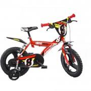 Bicicleta pentru copii Dino Bikes GLN, 16 inch, varsta 5 ani+