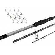 Delphin Long Shot feeder + 4 špičky360cm/3,5lbs