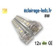 Bandeau LED intermédiaire 50cm rigide 8W Blanc chaud 12V ref bl-11