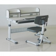 Premium Study Table - Topper Mini 100 - Kids Ergonomic Height Adjustable Desk Chair.