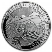 Stříbrná investiční mince Noemova archa Arménie 1 Oz 2018