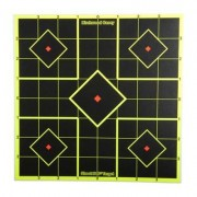 "Birchwood Casey Shoot-N-C Target - 8"""" Sight-In, 15 Pack"