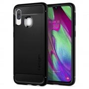 Carcasa Spigen Rugged Armor Samsung Galaxy A40 (2019) Matte Black