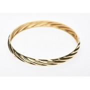 9ct/925 Gold fusion fancy bangle