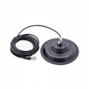 Baza Magnetica Megawat 145DV Antene CB, diametrul 149mm, lungime cablu 4m, tip fluture