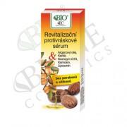 Bione Cosmetics Ser revitalizant antirid Ulei de Argan+ Karité 40 ml
