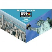 50-Piece Double 2-Sided Jigsaw Puzzle In Triangular Box - New York City [Toy]