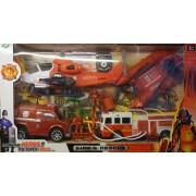 Fire rescue Tűzoltó szett - Gyerek játék