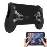 RK spel 5e Touch scherm Gamepad Mobile Game Controller Android & iOS telefoon (zwart)