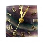 Fluorit ásványból készült óra