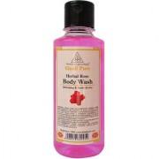 Khadi Pure Herbal Rose Body Wash - 210ml
