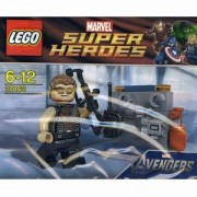 Конструктор Лего Супер Хироус - Hawkeye with Equipment - LEGO Super Heroes, 30165
