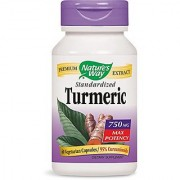 Nature's Way Turmeric Standardized 60 Cap Vegi