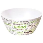 Kesper Gyümölcsös/Salátás tál, betűk, 15 cm-es átmérő, 7 cm-es magasság