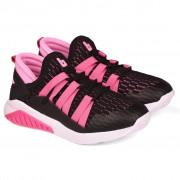 Pantofi Sport Fete Bibi Evolution Negru/Roz